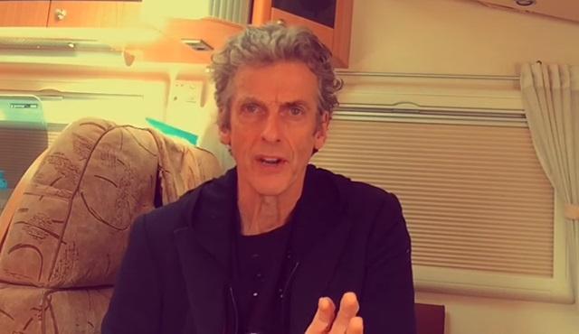 Peter Capaldi'den hayranlarına teşekkür videosu geldi