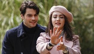 Aslan Ailem dizisinde Burcu ve Murat resmen nişanlandı!