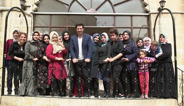 UNDP Türkiye İyi Niyet Elçisi Mert Fırat, Şanlıurfa'da kadınlar ve gençlerle buluştu!