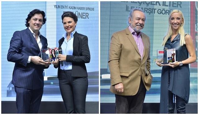 """""""Moon Life Yılın En İyileri"""" ödül töreninden Habertürk TV'ye ödül!"""