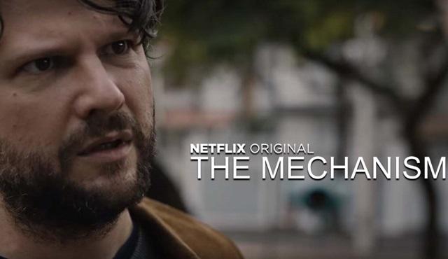 Netflix'in yeni Brezilya dizisi The Mechanism'den bir tanıtım daha geldi