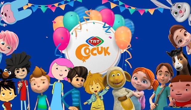 TRT Çocuk, 11. yılını sevilen çizgi dizilerin karakterleri ile kutluyor!