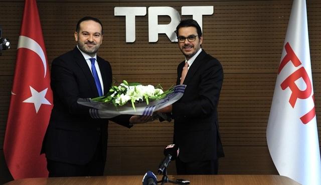 TRT'de bayrak değişimi yapıldı!