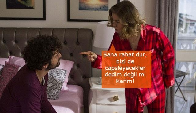 Hayat Şarkısı Caps: Bizi de capslemişler Kerim!