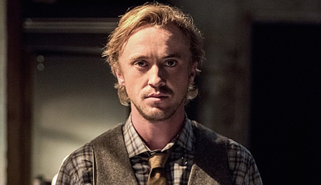 Tom Felton, The Flash'ta yüzünü gösterdi