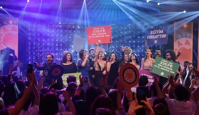 Kanal D'de yayınlanan TEGV Özel Yayınında büyük bir başarıya imza atıldı!