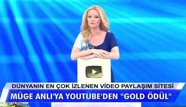 Müge Anlı ile Tatlı Sert'in Youtube kanalı 1 Milyon aboneyi aştı!