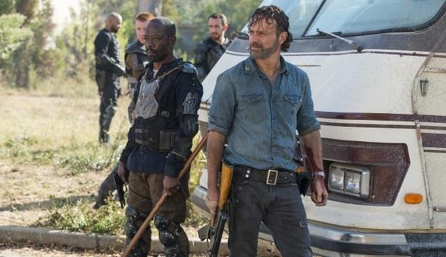 The Walking Dead'in çekimleri geçici süreyle durduruldu