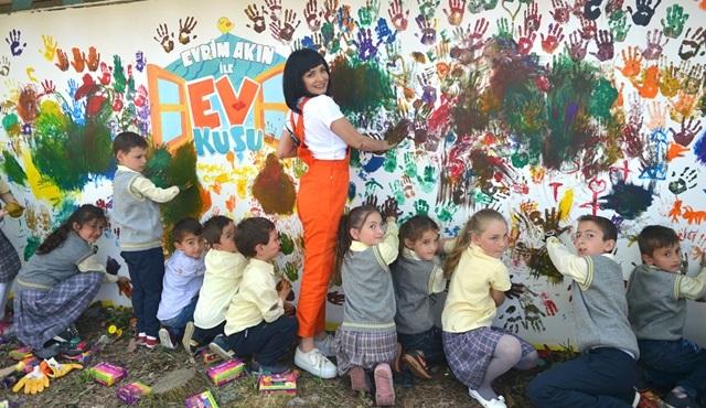 Evrim Akın ile Ev Kuşu'ndan köy okulunu yenileme projesi!