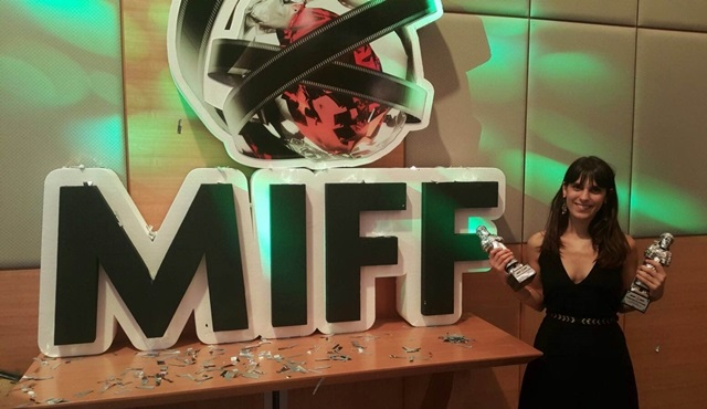 Esme Madra'ya Malatya Film Festivali'nden ödül!