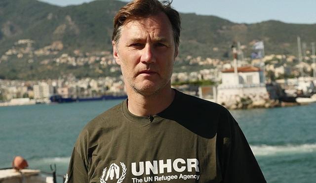 David Morrissey'den Suriyeli mültecilere yardım eli