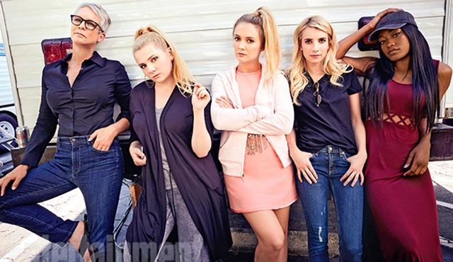 Scream Queens: 2. sezonun kamera arkasından ilk görüntüler