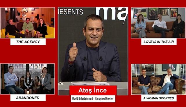 Ünlü yapım şirketleri dört yeni Türk dizisinin tanıtımı için MaddNext'te bir araya geldiler