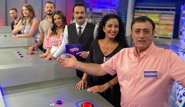 Ufuk Özkan'ın sunumuyla yayınlanan Star Market'te ünlüler yarışıyor!