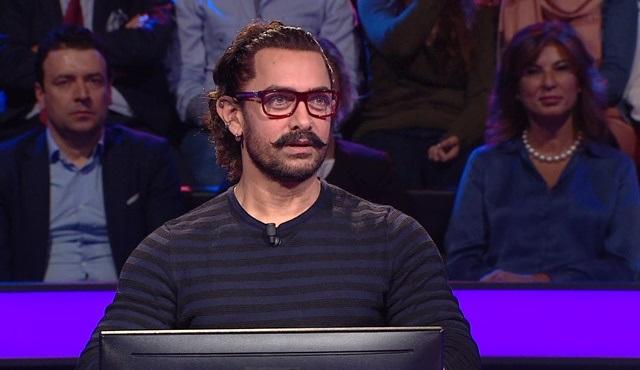 Aamir Khan, Kim Milyoner Olmak İster programında yarışacak!