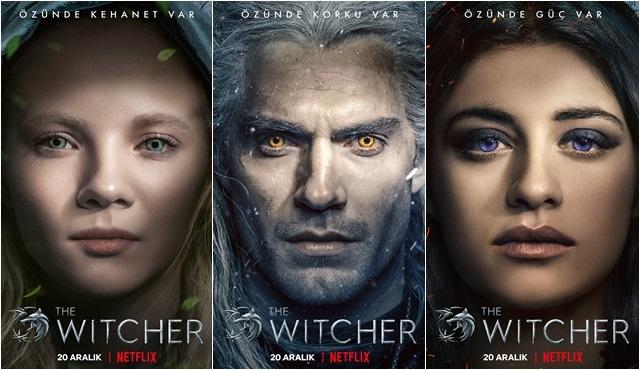 The Witcher dizisinden karakter tanıtımları ve afişleri yayınlandı!