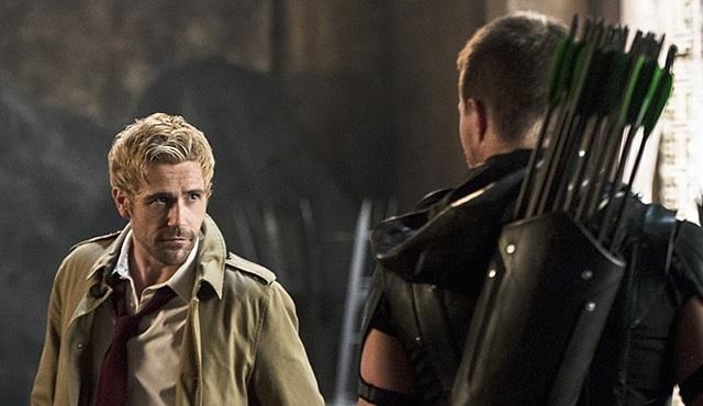 Constantine'in Arrow'a konuk olduğu bölüm internete sızdırıldı