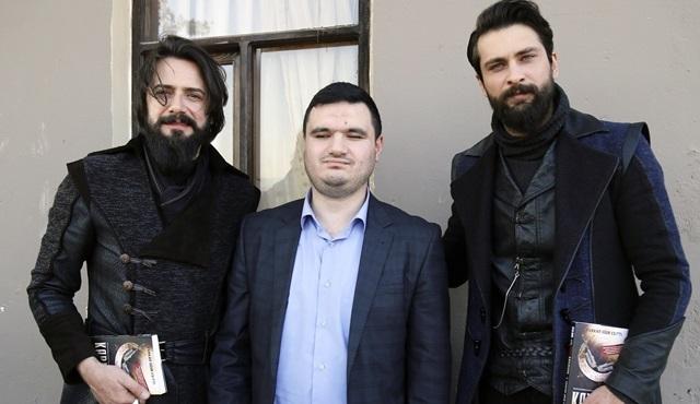 Furkan Uğur Eşitti, ilham aldığı Filinta setine konuk oldu!