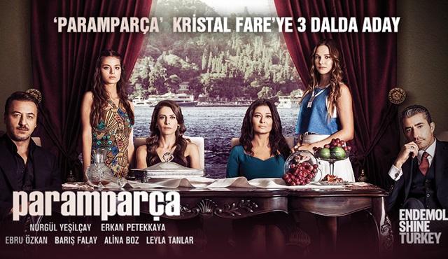 Paramparça, 4. Kristal Fare Ödülleri'nde üç dalda aday gösterildi!