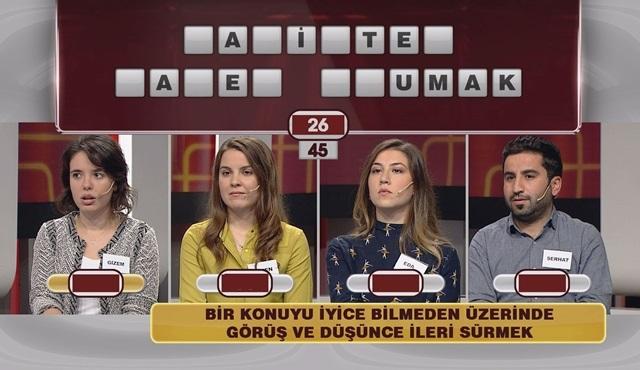 Süper Bulmaca'da bu hafta Boğaziçi Üniversitesi öğrencileri yarışıyor!