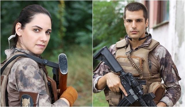 Ahu Türkpençe ve Serkan Çayoğlu, Börü kadrosunda buluştu!