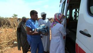Türkiye'den Sudan'a şifa yolculuğu belgesel oldu!