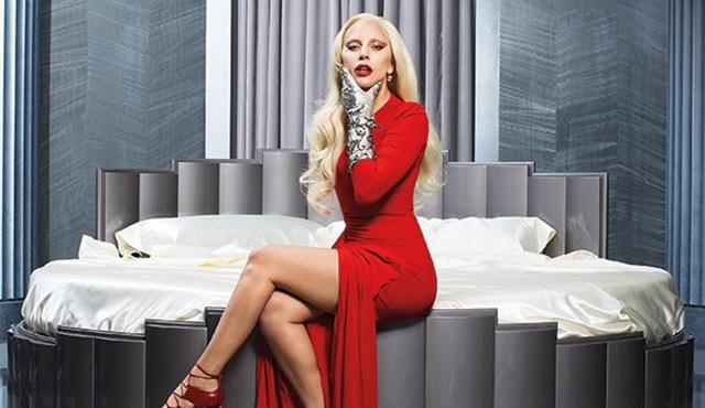 Lady Gaga'dan American Horror Story: Hotel'e özel pozlar