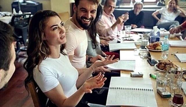 Burcu Özberk'in yeni dizisi Şahane Damat'ın çekimleri başladı!