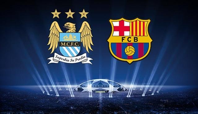 Şampiyonlar Ligi Maçı: Manchester City-Barcelona