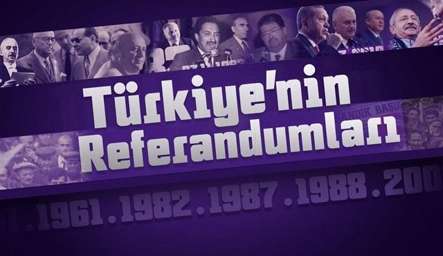 Türkiye'nin Referandumları, 1961'den 2010'a eski halk oylamalarını hatırlatıyor!