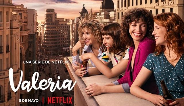 Netflix'in İspanya yapımı yeni dizisi Valeria 8 Mayıs'ta başlıyor