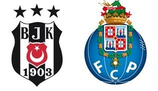 UEFA Şampiyonlar Ligi'nde Beşiktaş – Porto Karşılaşması TRT1'de!