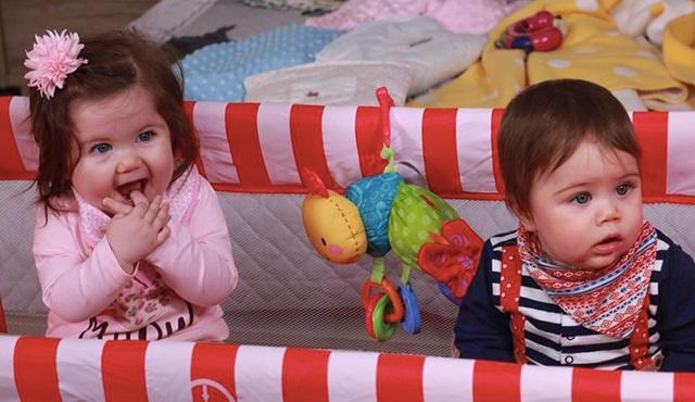 Aranan ikiz bebeler bulundu: İşte Ömer ve Melike