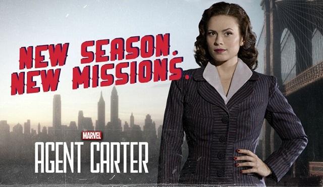 Agent Carter'in 2. sezonundan ilk tanıtım paylaşıldı