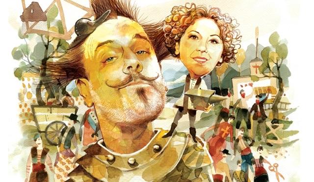 Baba Sahne'nin yeni oyunu Don Kişot'um Ben'in biletleri satışa çıktı!