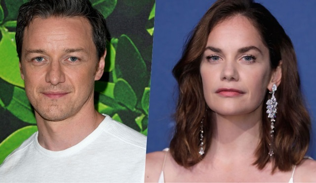 Ruth Wilson ile James McAvoy, His Dark Materials dizisinin kadrosunda