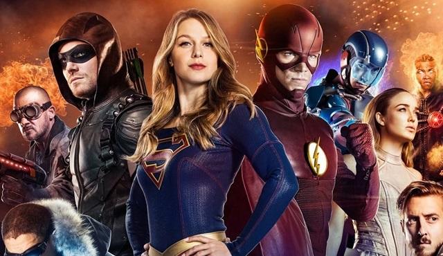 The CW'nun DC Comics dizileri için ortak bir fragman yayınlandı