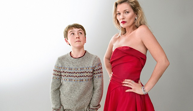 The Boy in The Dress: Kate Moss'lu ilk görüntüler