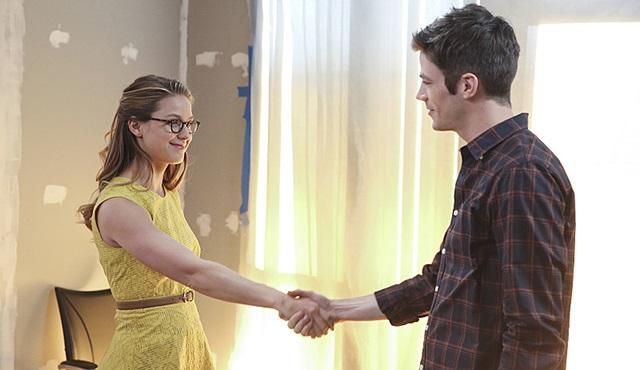 Supergirl ve The Flash ortak bölümünden ilk tanıtım geldi
