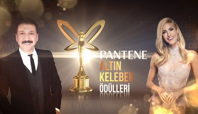Pantene Altın Kelebek Ödülleri, Kanal D ve teve2'de ekrana gelecek!