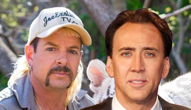 Nicolas Cage, kariyerinin ilk dizi başrolünde Tiger King'i canlandıracak