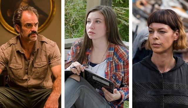The Walking Dead'in üç oyuncusu ana kadro oyunculuğuna yükseldi