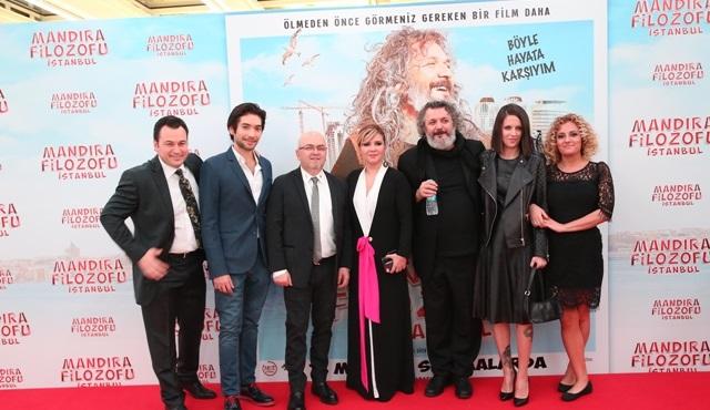 Mandıra Filozofu İstanbul filminin galası yapıldı!
