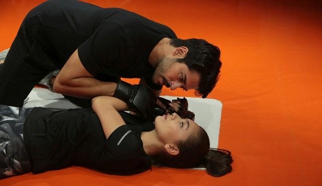 Kara Sevdalılar Kemal ve Nihan kick boks ringinde!
