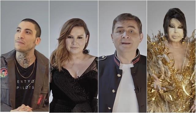 Popstar 2018'in jürisi, YouTube için kamera karşısına geçti!