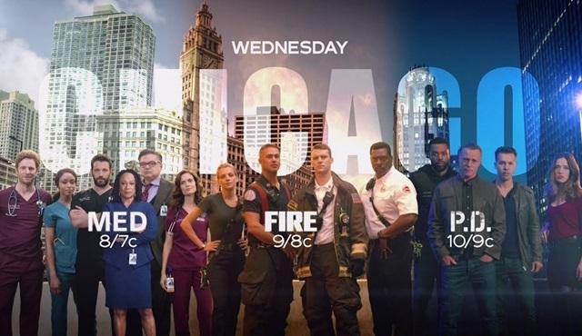 NBC, üç Chicago dizisine de yeni sezon onayı verdi