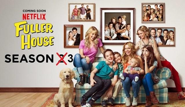 Netflix komedisi Fuller House'un 3. sezon fragmanı ve posteri yayınlandı