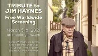 Jim Haynes'i anma belgeseli Meeting Jim özel yayınla dünyaya açılıyor