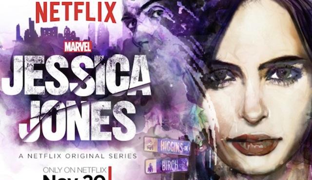 Jessica Jones'un hareketli posteri gün yüzüne çıktı
