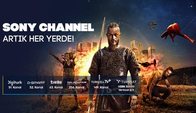 Sony Channel'la dizi ve film keyfi artık her yerde!